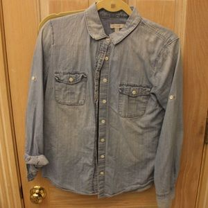 J Crew Denim button down